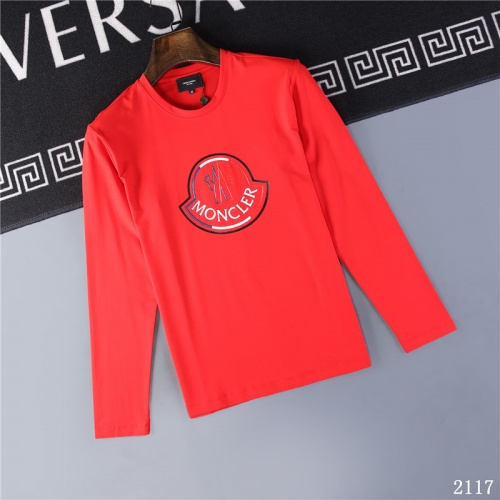 Moncler T-Shirts Long Sleeved O-Neck For Men #799677