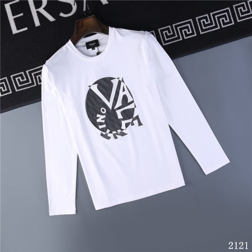 Valentino T-Shirts Long Sleeved O-Neck For Men #799681 $32.98, Wholesale Replica Valentino T-Shirts