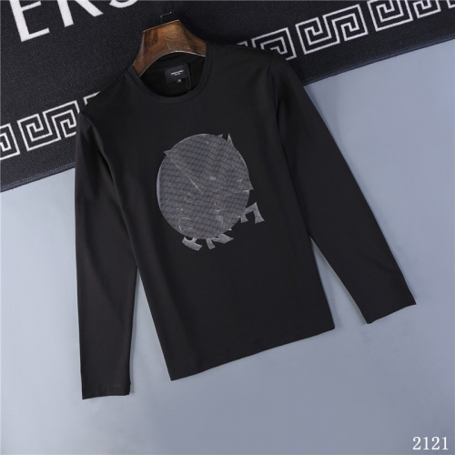 Valentino T-Shirts Long Sleeved O-Neck For Men #799682 $32.98, Wholesale Replica Valentino T-Shirts
