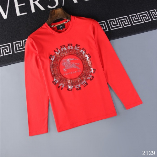 Burberry T-Shirts Long Sleeved O-Neck For Men #799684