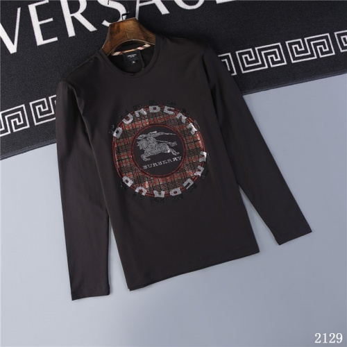 Burberry T-Shirts Long Sleeved O-Neck For Men #799685
