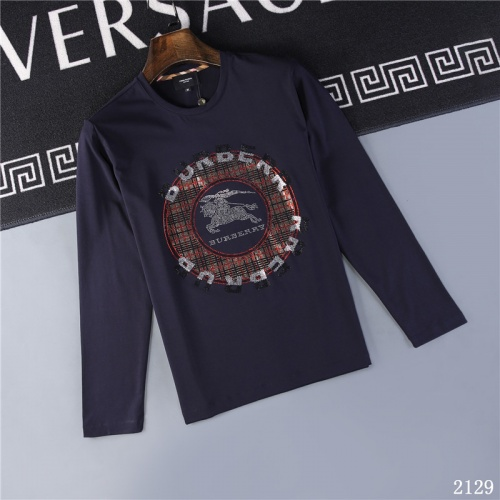 Burberry T-Shirts Long Sleeved O-Neck For Men #799686