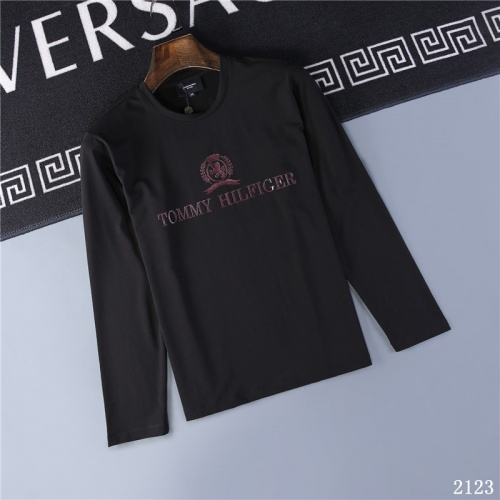 Tommy Hilfiger TH T-Shirts Long Sleeved O-Neck For Men #799688