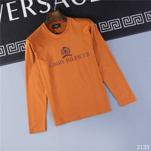 Tommy Hilfiger TH T-Shirts Long Sleeved O-Neck For Men #799689