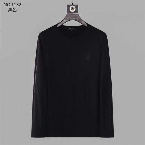 Prada T-Shirts Long Sleeved O-Neck For Men #799691 $32.98 USD, Wholesale Replica Prada T-Shirts