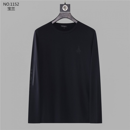 Prada T-Shirts Long Sleeved O-Neck For Men #799692 $32.98 USD, Wholesale Replica Prada T-Shirts