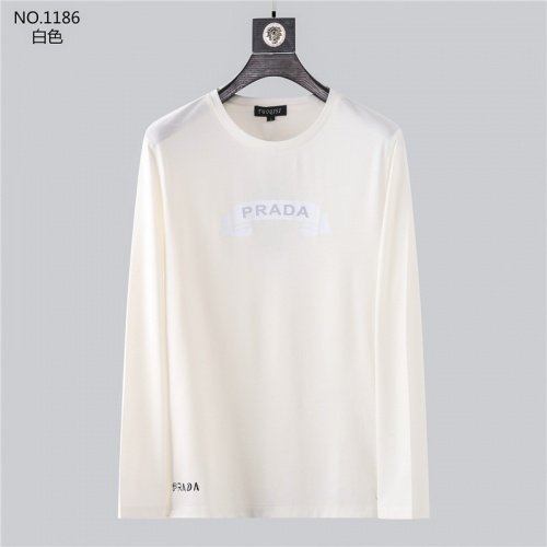 Prada T-Shirts Long Sleeved O-Neck For Men #799694