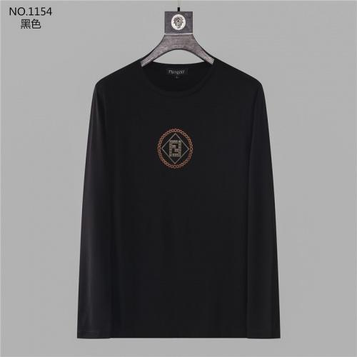 Fendi T-Shirts Long Sleeved O-Neck For Men #799696