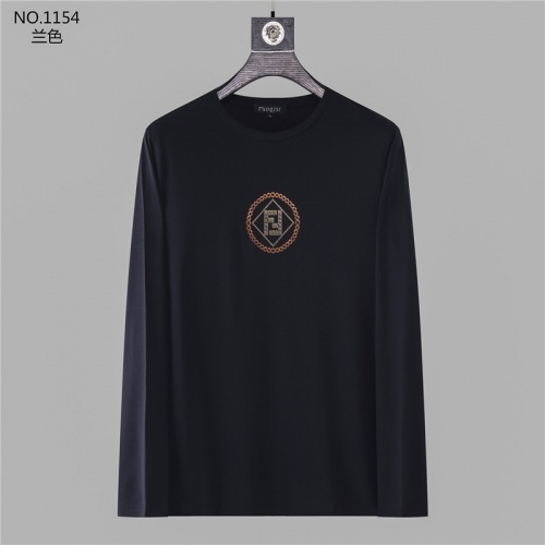 Fendi T-Shirts Long Sleeved O-Neck For Men #799697