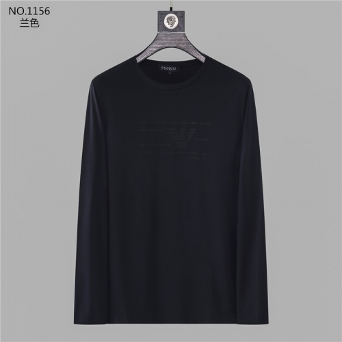 Armani T-Shirts Long Sleeved O-Neck For Men #799700