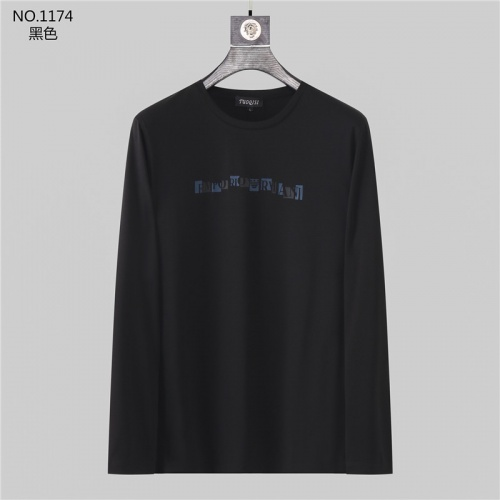 Armani T-Shirts Long Sleeved O-Neck For Men #799710