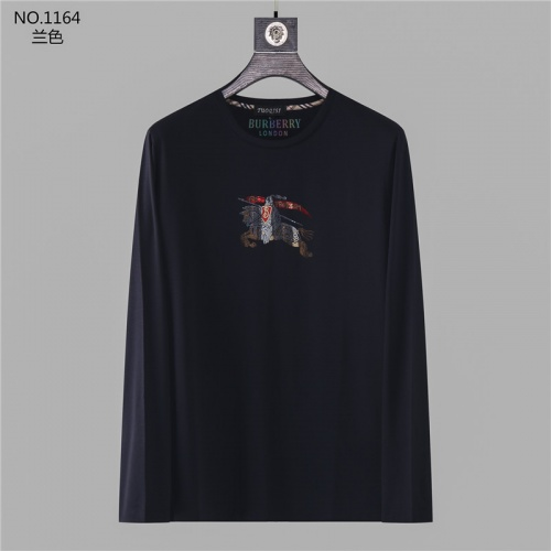 Burberry T-Shirts Long Sleeved O-Neck For Men #799726