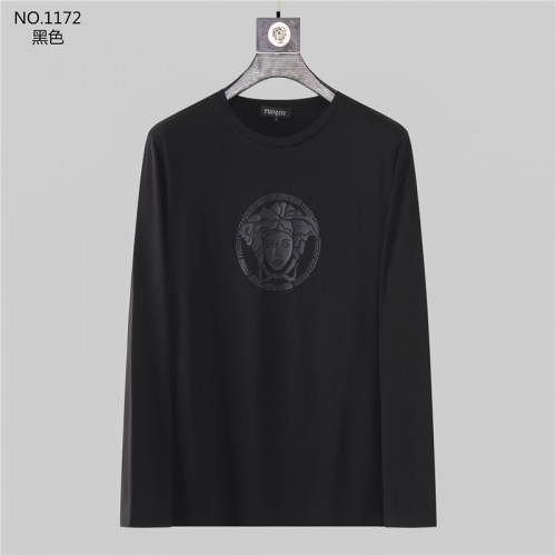 Versace T-Shirts Long Sleeved O-Neck For Men #799728