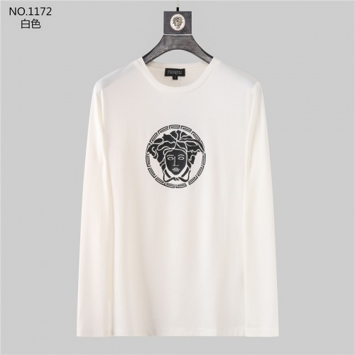 Versace T-Shirts Long Sleeved O-Neck For Men #799729