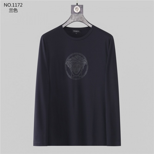 Versace T-Shirts Long Sleeved O-Neck For Men #799730