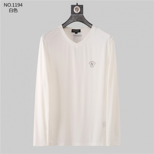 Versace T-Shirts Long Sleeved O-Neck For Men #799732