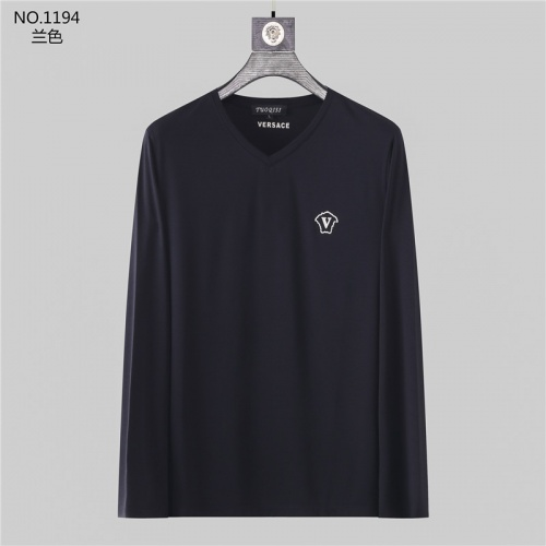 Versace T-Shirts Long Sleeved O-Neck For Men #799733