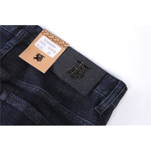 Replica Burberry Jeans Trousers For Men #799744 $39.77 USD for Wholesale
