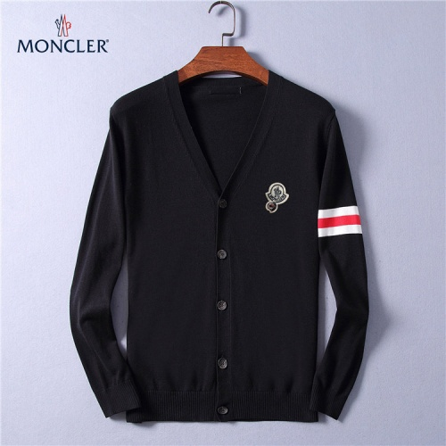 Moncler Sweaters Long Sleeved V-Neck For Men #799797
