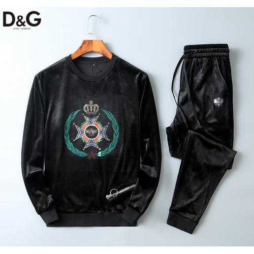 Dolce & Gabbana D&G Tracksuits Long Sleeved O-Neck For Men #799799