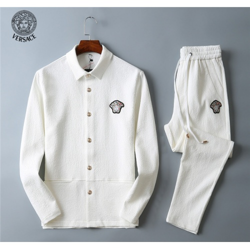 Versace Tracksuits Long Sleeved Polo For Men #799837