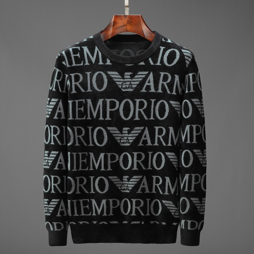 Armani Sweaters Long Sleeved O-Neck For Men #799875