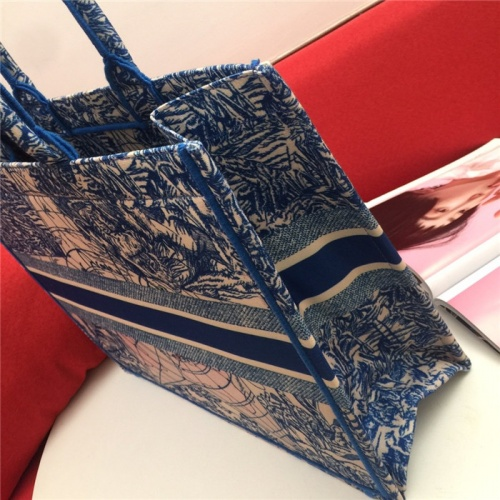 Replica Christian Dior AAA Tote-Handbags For Women #799953 $77.60 USD for Wholesale