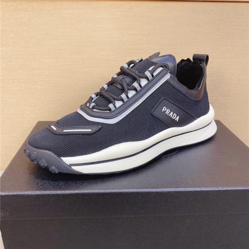 Replica Prada Casual Shoes For Men #799965 $77.60 USD for Wholesale