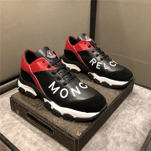 Moncler Casual Shoes For Men #799966 $83.42 USD, Wholesale Replica Moncler Casual Shoes