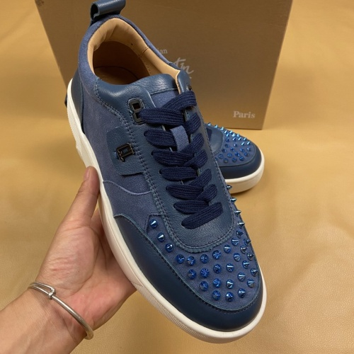 Replica Christian Louboutin Casual Shoes For Men #799979 $109.61 USD for Wholesale