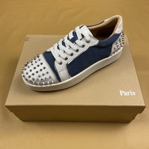 Replica Christian Louboutin Casual Shoes For Men #799984 $112.52 USD for Wholesale