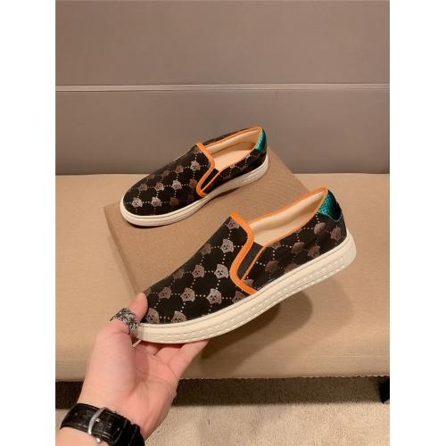 Versace Casual Shoes For Men #800029 $69.84 USD, Wholesale Replica Versace Casual Shoes