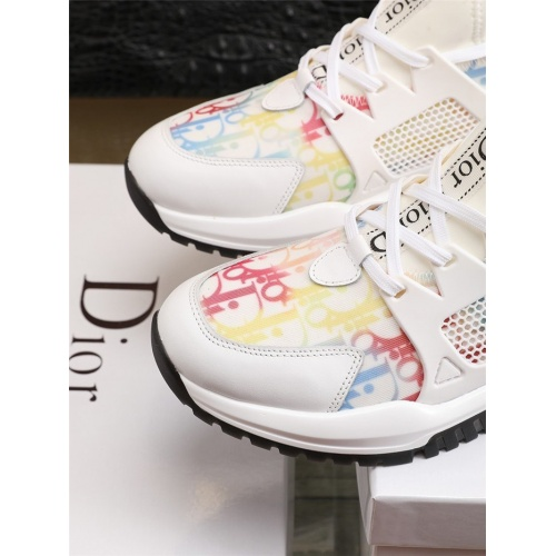 Replica Christian Dior Casual Shoes For Men #800065 $77.60 USD for Wholesale
