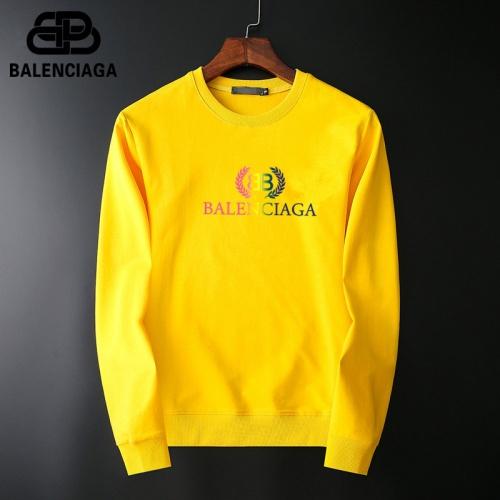 Balenciaga Hoodies Long Sleeved O-Neck For Men #800125