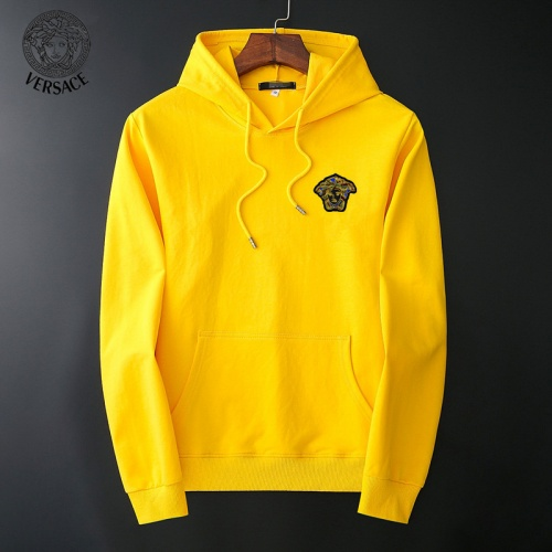 Versace Hoodies Long Sleeved O-Neck For Men #800127