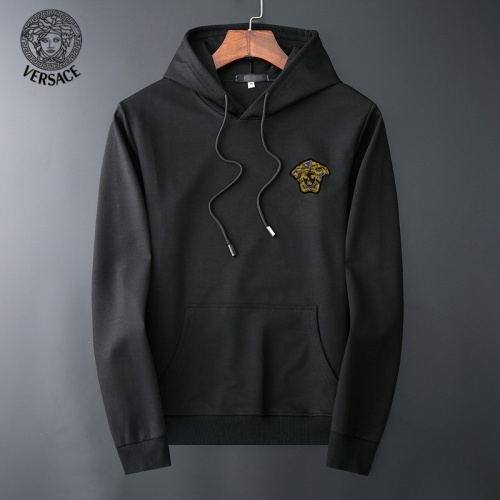 Versace Hoodies Long Sleeved O-Neck For Men #800128