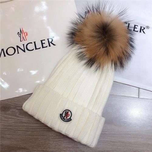 Moncler Caps #800277 $34.92, Wholesale Replica Moncler Caps