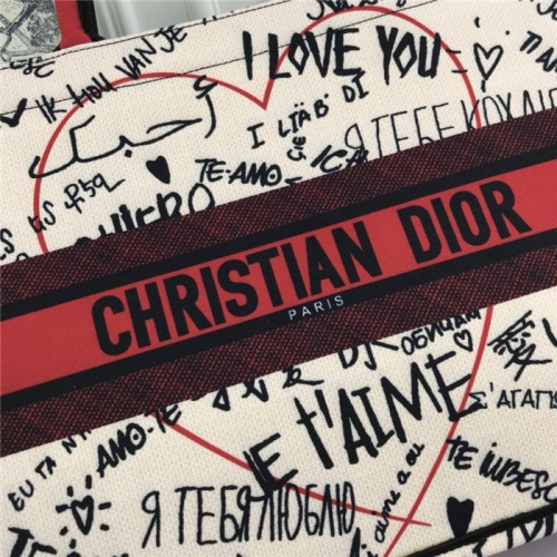 Replica Christian Dior AAA Tote-Handbags For Women #800596 $78.57 USD for Wholesale