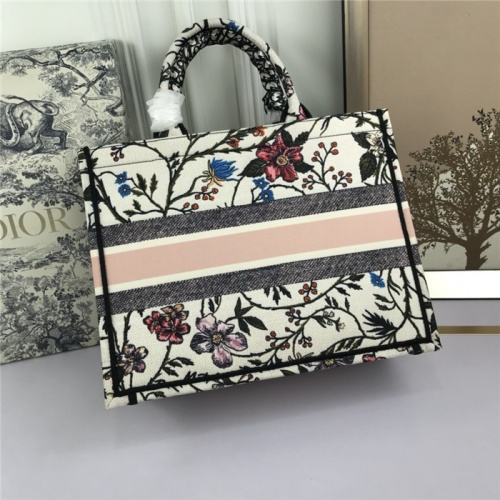 Replica Christian Dior AAA Tote-Handbags For Women #800605 $71.78 USD for Wholesale