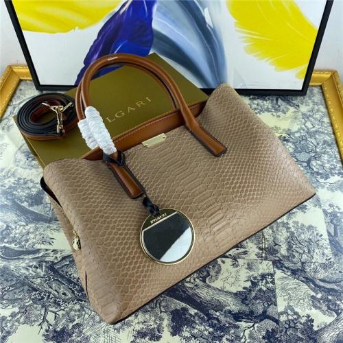 Bvlgari AAA Quality Handbags For Women #800669