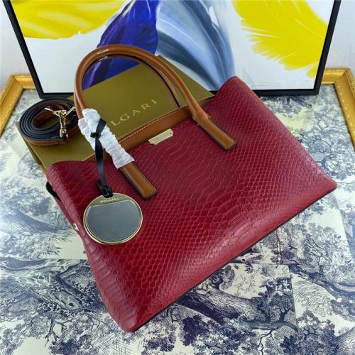 Bvlgari AAA Quality Handbags For Women #800672