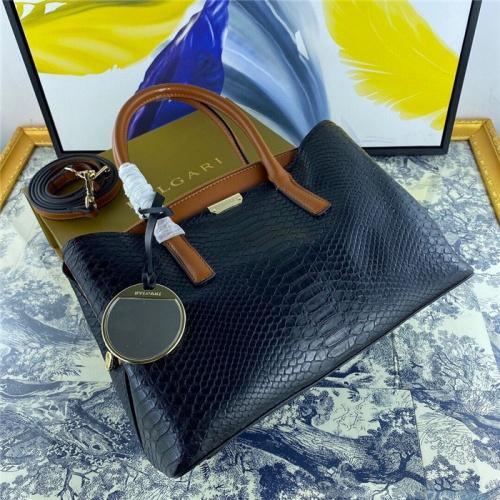 Bvlgari AAA Quality Handbags For Women #800673