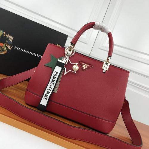 Prada AAA Quality Handbags For Women #800696