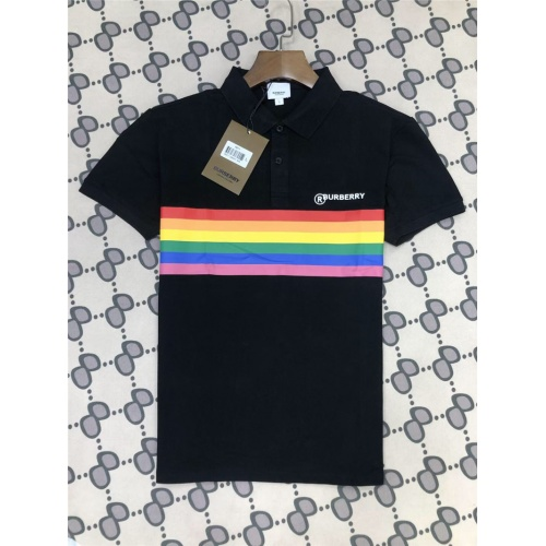 Burberry T-Shirts Short Sleeved Polo For Men #801031