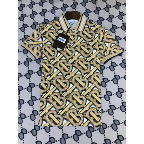 Burberry T-Shirts Short Sleeved Polo For Men #801033