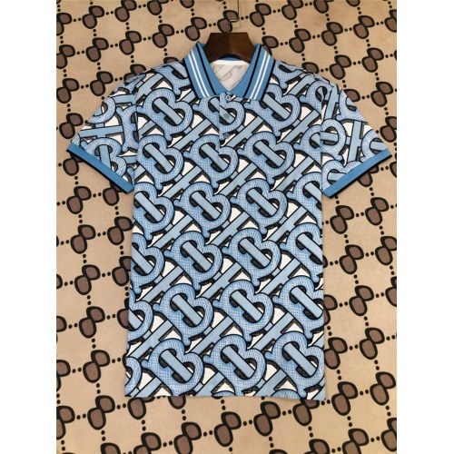 Burberry T-Shirts Short Sleeved Polo For Men #801034