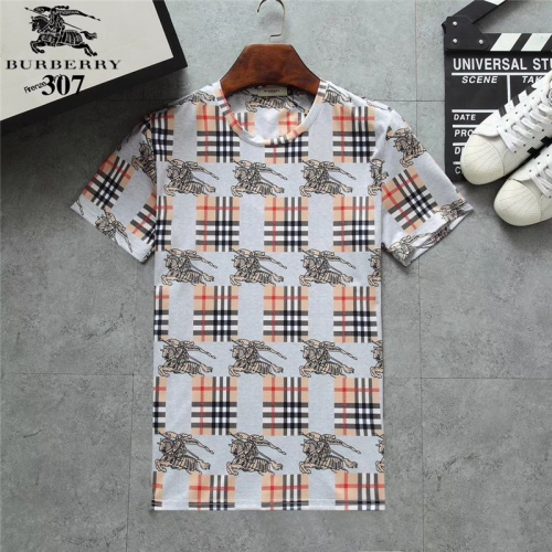Burberry T-Shirts Short Sleeved O-Neck For Men #801075