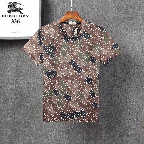 Burberry T-Shirts Short Sleeved O-Neck For Men #801082