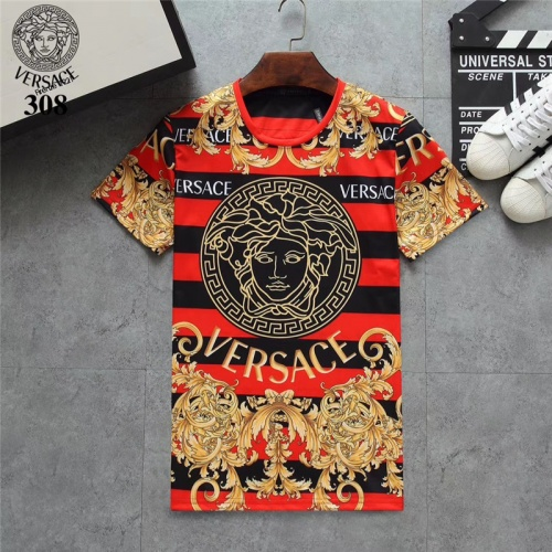 Versace T-Shirts Short Sleeved O-Neck For Men #801104
