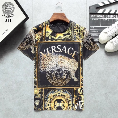 Versace T-Shirts Short Sleeved O-Neck For Men #801117